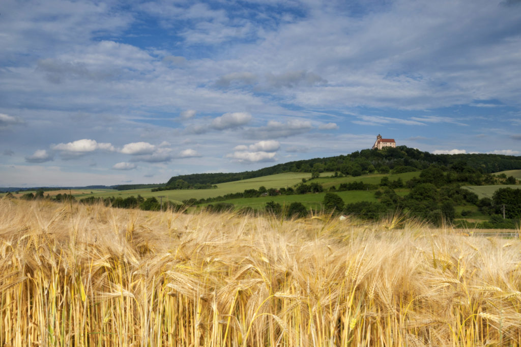 Landschaft Ronneburg Felder CDU Main-Kinzig