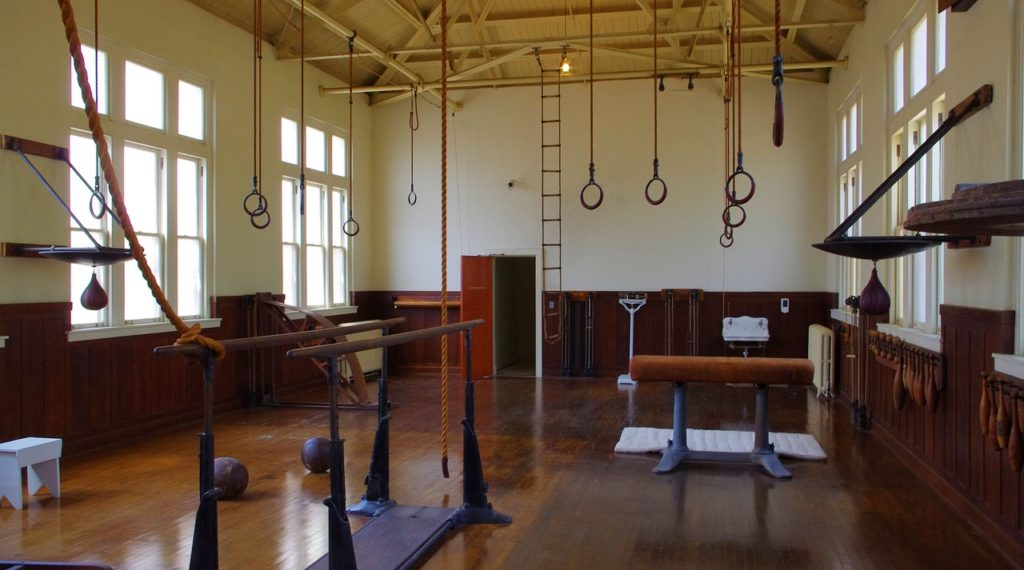 old gym in hot springs, fordyce, bathhouse
