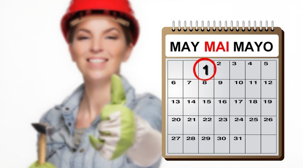 holiday, 1st may, worker